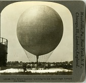 view LTA, Balloons, USA, Army Free Balloons, Signal Corps Balloon Ascension, Washington DC (c.1907-1909). [photograph] digital asset number 1