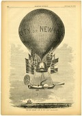 "view LTA, Balloons, USA, Lowe (Thaddeus S.C.), ""Great Western"" (""City of New York"") (1859-60). [photograph] digital asset number 1"