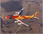 view Air Transport, Airlines, Braniff International (USA); Douglas DC-8-62 (Super DC-8). [photograph] digital asset number 1