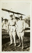 """view Thaw, William, II """"Bill"""" (Colonel); Johnson, Charles Chouteau; France, Lafayette Escadrille. [photograph] digital asset number 1"""