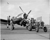 view Goodyear F2G-1; Events, National Air Races (Cleveland, OH, 1920-1949). [photograph] digital asset number 1