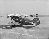 """view Pitts S-1 Special """"Little Stinker,"""" NASM; Events, National Air Races (Cleveland, OH, 1920-1949). [photograph] digital asset number 1"""