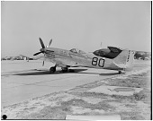 view Supermarine Spitfire F.Mk.XIV; Events, National Air Races (Cleveland, OH, 1920-1949). [photograph] digital asset number 1
