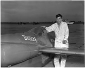 """view Wittman Special 20 """"Buster""""; Brennand, Bill; Events, National Air Races (Cleveland, OH, 1920-1949). [photograph] digital asset number 1"""
