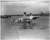 view Williams (Aircraft Design) 1948 Special 2X Estrellita (Little Star); Events, National Air Races (Cleveland, OH, 1920-1949). [photograph] digital asset number 1