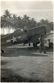 view Lindbergh, Charles Augustus; Vought F4U Corsair Family; Wars and Conflicts, World War II, Pacific Theater, New Guinea. [photograph] digital asset number 1