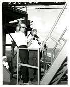 view Ley, Willy; Cope, Charles M.; Kennedy Space Center Spaceport USA (Cape Canaveral, FL). [photograph] digital asset number 1