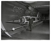 view Ley, Willy; Viking Sounding Rocket (RTV-N-12); Museums, American Museum of Natural History (New York, NY). [photograph] digital asset number 1