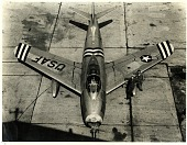 view North American P-86A (F-86A) Sabre. [photograph] digital asset number 1