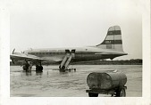 view Douglas DC-6; Overseas National Airways (ONA) (USA); Korean War. [photograph] digital asset number 1