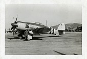 view Hawker Sea Fury FB.Mk.11; Bases and Installations, Foreign, South Korea; Korean War. [photograph] digital asset number 1