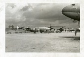 view Lockheed C-121 Constellation/Super Constellation Family; Curtiss C-46 Commando Family; Korean War. [photograph] digital asset number 1