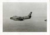 view North American P-86A (F-86A) Sabre; Korean War. [photograph] digital asset number 1