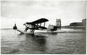 view Fairey IIID Seaplane; Events, 1922 Lisbon, Portugal to Rio de Janeiro, Brazil; Sacadura Cabral, Artur de (Artur de Sacadura Freire Cabral); Gago Coutinho, Carlos Viegas. [photograph] digital asset number 1