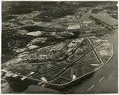 view Airports, USA, Virginia, Virginia, Washington (Ronald Reagan) National Airport; Photography,Types of Images, Aerial Photography. [photograph] digital asset number 1