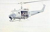 view Bell UH-1 Iroquois (Huey) Series; Wars and Conflicts, Vietnam War. [photograph] digital asset number 1