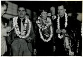 view Earhart, Amelia Mary, 1930s; Noonan, Fred; Mantz, Paul. [photograph] digital asset number 1