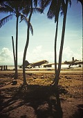 view Douglas C-47 Skytrain Family; North American B-25 Mitchell Family; Kirkpatrick, James J.; World War II, Pacific Theater, Philippines. [photograph] digital asset number 1
