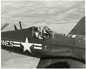 view Engen, Donald D. (Adm);V̀ought AU-1 (F4U-6) Corsair. [photograph] digital asset number 1