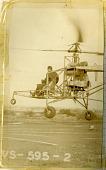 view Sikorsky VS-300, 1st Configuration; Gluhareff, Serge Eugene. [photograph] digital asset number 1