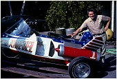 view Truax, Robert Collins; Rocket Cars, USA, Knievel (Truax X-2 Sky-Cycle). [photograph] digital asset number 1