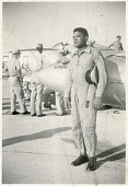 """view Campbell, Lawrence Edward """"Larry,"""" Jr.; Lockheed (F-80) P-80A Shooting Star. [photograph] digital asset number 1"""