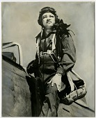 "view Republic P-47 (F-47) Thunderbolt Family; Campbell, Lawrence Edward ""Larry,"" Jr.. [photograph] digital asset number 1"