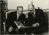 view Clarke, Arthur Charles; Leonov, Alexei Arkhipovich. [photograph] digital asset number 1