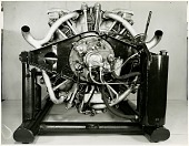 view Propulsion, Engines, Guiberson Diesel T-1020 9-Cylinder Radial Tank Engine. [photograph] digital asset number 1