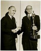 "view Weick, Fred E.; Rickenbacker, Edward V. ""Eddie""; Awards and Trophies, Fawcett Aviation Award. [photograph] digital asset number 1"