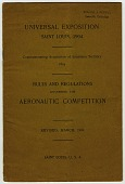 view Events, 1904 St Louis, Exposition and Aeronautical Competition. [ephemera] digital asset number 1
