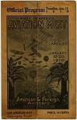 view Events, 1910 Los Angeles, CA, International Aviation Meet. [ephemera] digital asset number 1