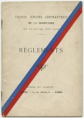 view Events, 1909 Reims, France, Grande Semaine d'Aviation de la Champagne. [ephemera] digital asset number 1
