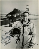 """view Knight, William J. """"Pete""""; North American X-15. [photograph] digital asset number 1"""