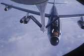 view Boeing RB-47 Stratojet Family; Boeing KC-135 Family; Miscellaneous, Operations, Aerial Refueling. [photograph] digital asset number 1