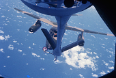 view Douglas B-66 Destroyer Family; Boeing KC-135 Family; Miscellaneous, Operations, Aerial Refueling. [photograph] digital asset number 1