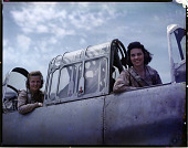 view History of the Women Pilots in the Air Ferrying Division, ATC Collection digital asset: NASM 9A18304, Women's Auxiliary Ferrying Squadron (WAFS) pilots in the cockpit of a North American AT-6 Texan. History of the Women Pilots in the Air Ferrying Division, ATC Collection, NASM..2021.0019