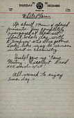 view Pages from Joseph Mountain's diary digital asset: Pages from Joseph Mountain's diary: 1950-1960