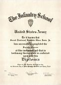 view Diplomas - The Infantry School (U.S. Army) digital asset: Diplomas - The Infantry School (U.S. Army)