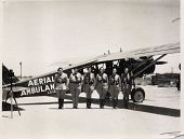 view [Photographs of the Women's Air Reserve Aerial Ambulance] digital asset: [Photographs of the Women's Air Reserve Aerial Ambulance]