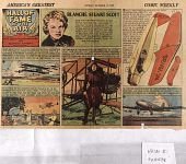 view Comic Strip Hall of Fame of the Air by E. Rickenbacker and Clayton Knight and Featuring Blanche Stuart Scott (see copy in newspaper articles for October 15, 1939) digital asset: Comic Strip Hall of Fame of the Air by E. Rickenbacker and Clayton Knight and Featuring Blanche Stuart Scott (see copy in newspaper articles for October 15, 1939)