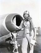 view Republic F-84E Thunderjet digital asset: Republic F-84E Thunderjet