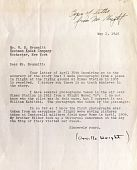 view Correspondence from Orville Wright to Brummitt digital asset: Correspondence from Orville Wright to Brummitt