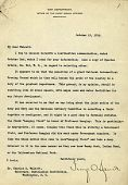 view George O. Squier - Charles D. Walcott correspondence on naming the National Aeronautical Proving Ground for Langley digital asset: George O. Squier - Charles D. Walcott correspondence on naming the National Aeronautical Proving Ground for Langley