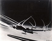 view Boeing B-17F Flying Fortress [Germany, Airplanes, Vapor Trails]. [photograph] digital asset number 1