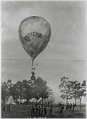 """view LTA, Balloons, USA, Civil War, Lowe (Thaddeus S.C.), Battle of Fair Oaks (1862), """"Intrepid"""". [photograph] digital asset number 1"""