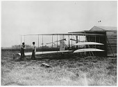 view Wright 1904 Flyer II; Wright, Orville & Wilbur; Wright Bros, Test Sites, Huffman Prairie/Simms Station (OH). [photograph] digital asset number 1
