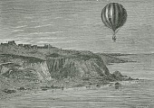 view LTA, Balloons, France, Blanchard (Jean-Pierre), Channel Flight (1785); Jeffries, John. [photograph] digital asset number 1