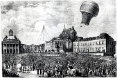 "view LTA, Balloons, France, Montgolfier, ""Animal Flight', Versailles (19 Sep 1783). [photograph] digital asset number 1"
