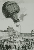 "view LTA, Balloons, France, Montgolfier, ""Animal Flight', Versailles (19 Sep 1783). [negative] digital asset number 1"